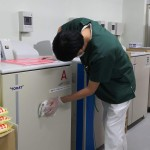 機械室掃除