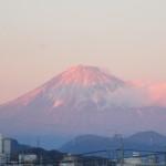 元旦の赤富士